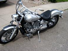 Cruiser Motorcycle Seat