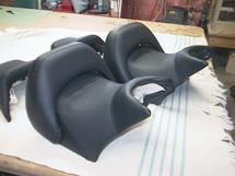 New custom motorcycle seat