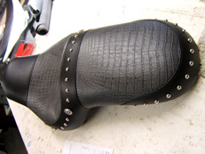 Motorcycle Seat Studding