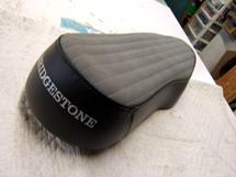 Vintage Bridgestone Motorcycle seat